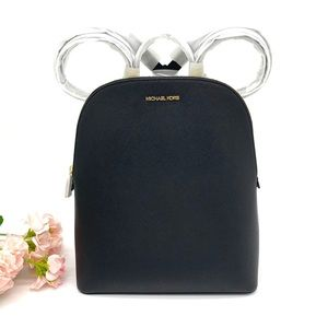 Michael Kors Cindy LG Backpack-BLACK